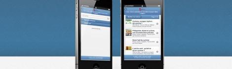 Une version mobile de la recherche sur le catalogue de votre portail e-sidoc