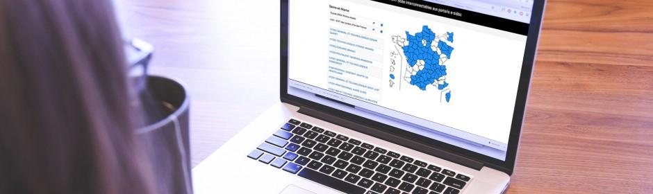 Carte des ENT interconnectables avec e-sidoc