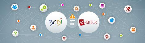 Mise à jour BCDI : Version 2.62 – Signalement de réservations en provenance d'e-sidoc